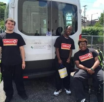 Thank you Northern Ohio Golf Charities for the beautiful new wheelchair accessible van!